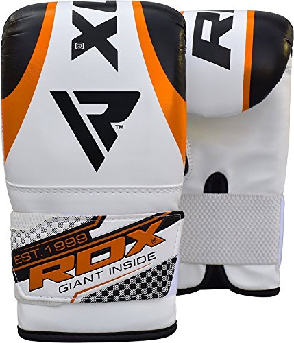 RDX Punch Bag Filled 4ft 5ft Boxing 8pc Set Kickboxing MMA Heavy Muay Thai Training Gloves Punching Mitts Hanging Chain Anchor Ceiling Hook Martial Arts