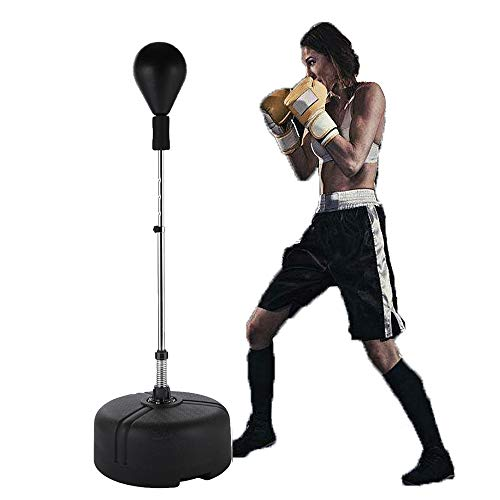 Reflex Bag Speed Punching Bag with Adjustable Height Free Standing Punching Bag